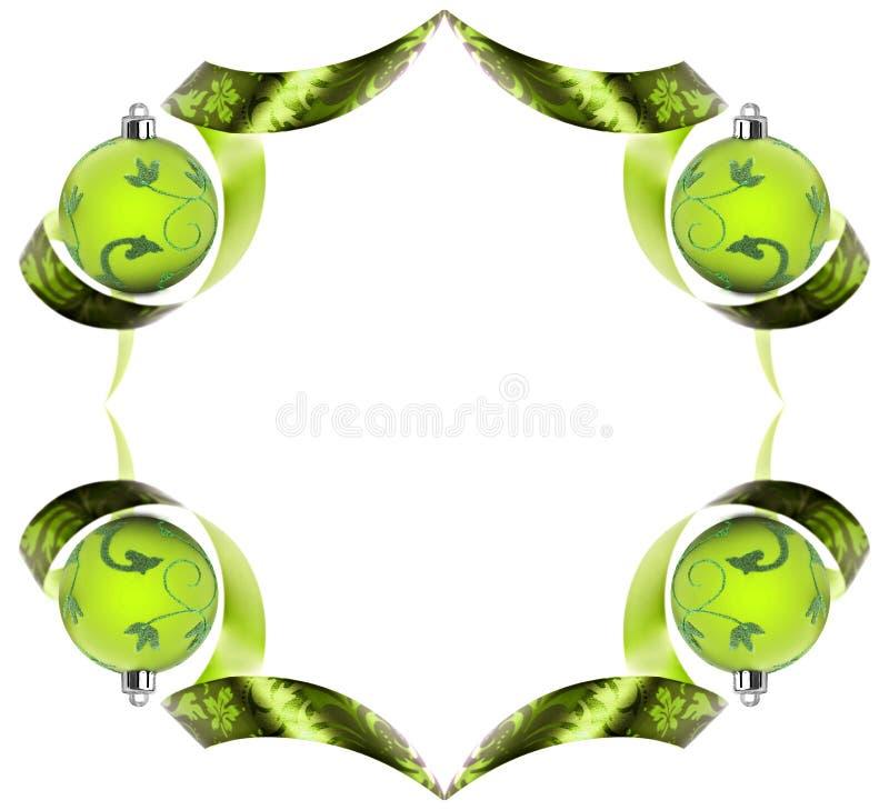 διακοσμητικοί πράσινοι &gamma στοκ φωτογραφία