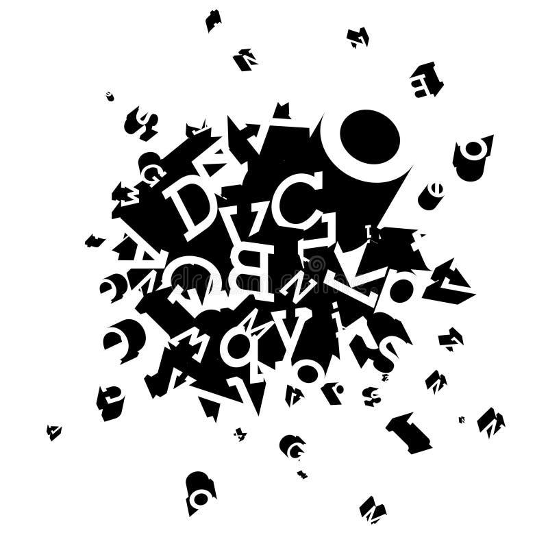διακοσμητικός εκρηκτι&kappa διανυσματική απεικόνιση