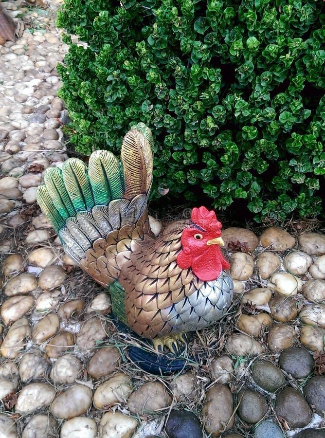 Διακοσμητικός κήπος κοτόπουλου στοκ φωτογραφίες με δικαίωμα ελεύθερης χρήσης