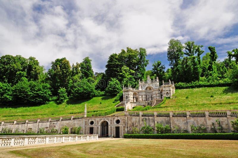 Διακοσμητικός κήπος του della Regina βιλών στοκ φωτογραφίες με δικαίωμα ελεύθερης χρήσης