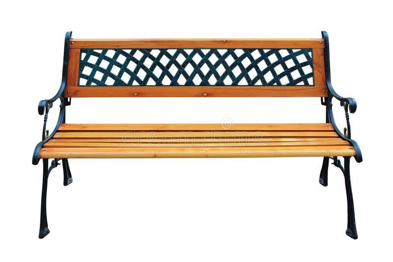 Διακοσμητικός ξύλινος πάγκος στοκ εικόνες με δικαίωμα ελεύθερης χρήσης
