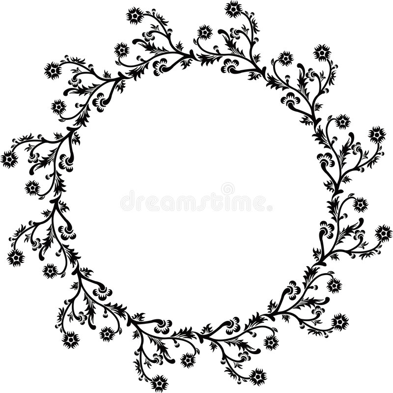 Download διακοσμητικό διάνυσμα πλαισίων Διανυσματική απεικόνιση - εικονογραφία από floral, απεικόνιση: 525874