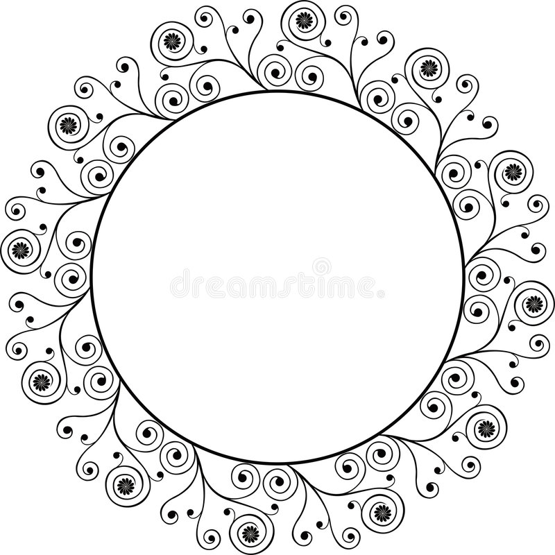 Download διακοσμητικό διάνυσμα πλαισίων Διανυσματική απεικόνιση - εικονογραφία από antiquate, λουλούδι: 525875