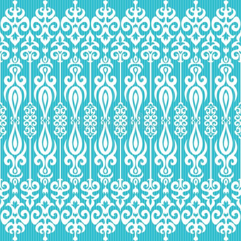 Διακοσμητικό διακοσμητικό υπόβαθρο στο ασιατικό ύφος διανυσματική απεικόνιση