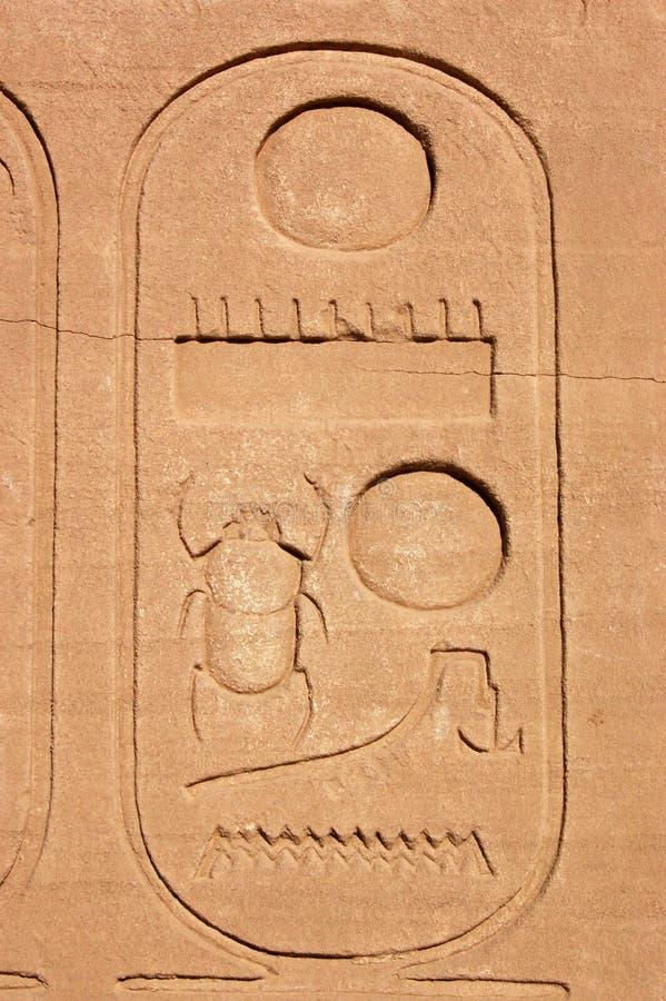 διακοσμητικό πλαίσιο scarab στοκ εικόνα με δικαίωμα ελεύθερης χρήσης