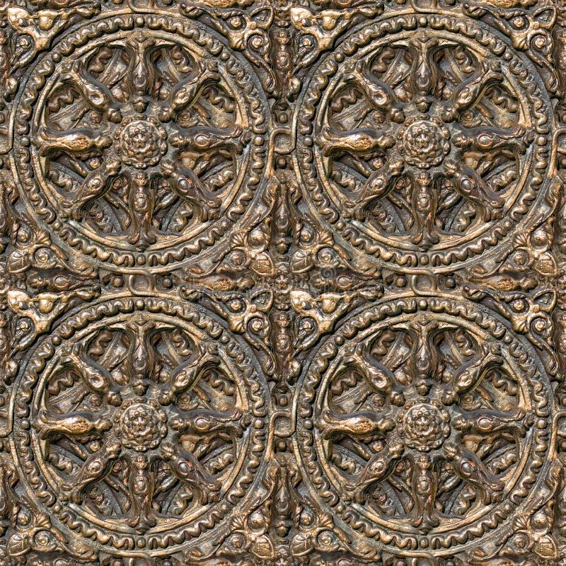 διακοσμητικό πρότυπο μετάλλων Στοκ Εικόνες