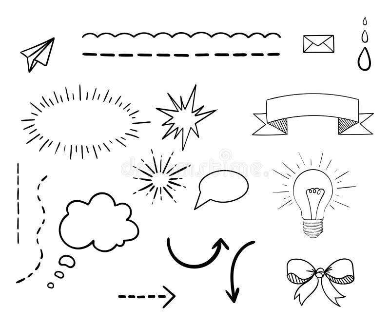 Διακοσμητικό πρότυπο χαρτοφυλακίων σχεδίου Ιστού στοιχείων, απεικόνιση απεικόνιση αποθεμάτων