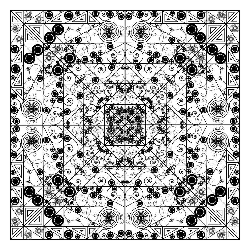 Διακοσμητικό στοιχείο διανυσματική απεικόνιση