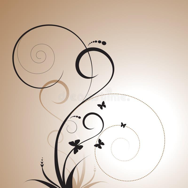 διακοσμητικό σχέδιο floral ελεύθερη απεικόνιση δικαιώματος