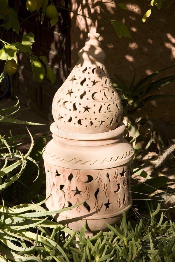 διακοσμητικό φανάρι κήπων στοκ εικόνες με δικαίωμα ελεύθερης χρήσης