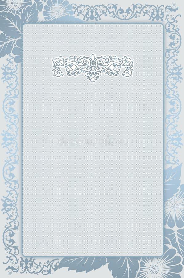 Διακοσμητικό floral υπόβαθρο ελεύθερη απεικόνιση δικαιώματος