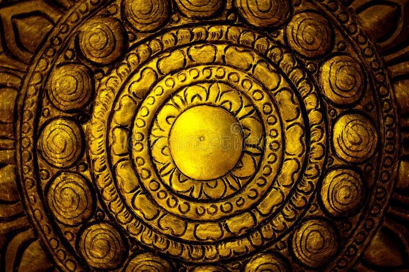 διακοσμητικό lanna Ταϊλανδός τέχνης στοκ φωτογραφία με δικαίωμα ελεύθερης χρήσης