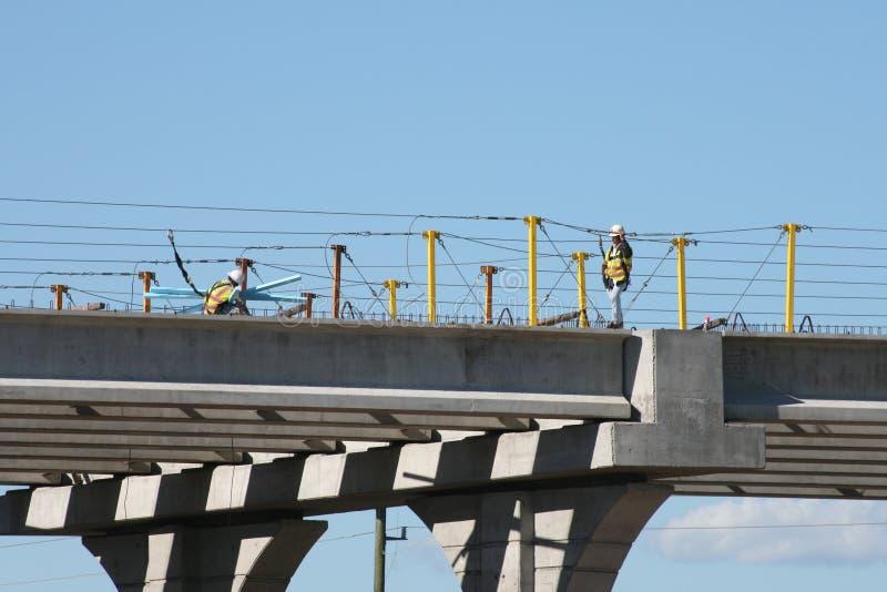 Διακρατική κατασκευή 69 γεφυρών κοντά στο Χιούστον, Τέξας στοκ εικόνες