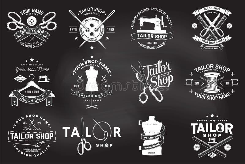 Διακριτικό καταστημάτων ραφτών r Έννοια για το πουκάμισο, την τυπωμένη ύλη, την ετικέτα γραμματοσήμων ή το γράμμα Τ Εκλεκτής ποιό απεικόνιση αποθεμάτων