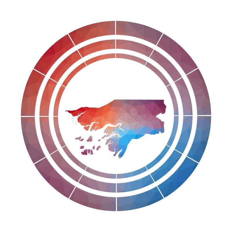 Διακριτικό της Γουινέα-Μπισσάου ελεύθερη απεικόνιση δικαιώματος