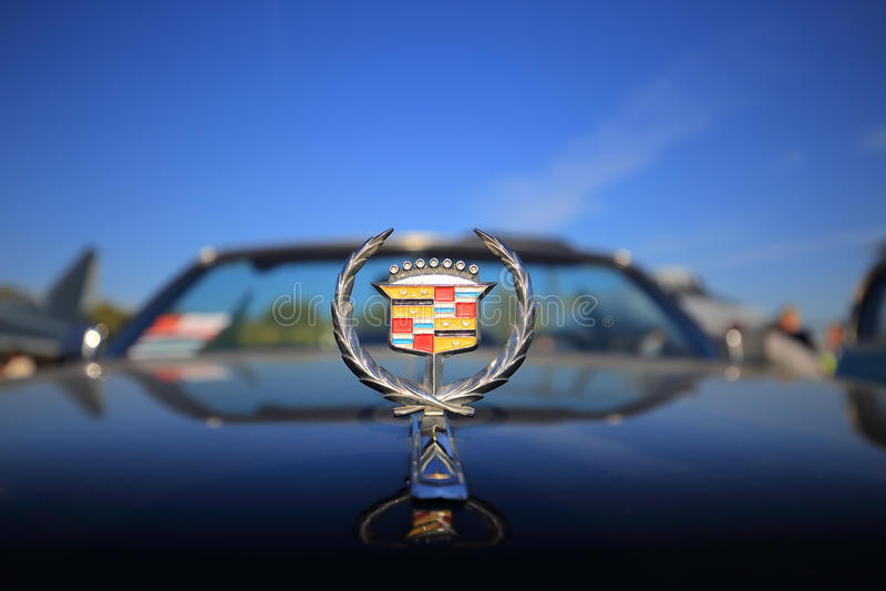 Διακριτικό Cadillac στοκ εικόνες