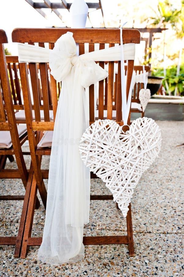 Διακόσμηση γαμήλιων καρδιών στοκ φωτογραφία με δικαίωμα ελεύθερης χρήσης
