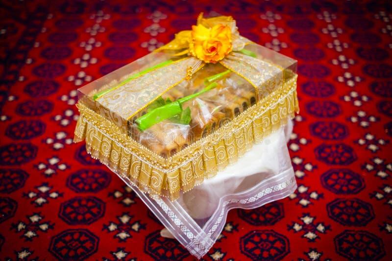 Διακόσμηση γαμήλιων δώρων στοκ εικόνες
