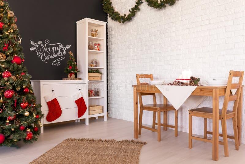 Διακόσμηση καθιστικών Noel στοκ εικόνα με δικαίωμα ελεύθερης χρήσης