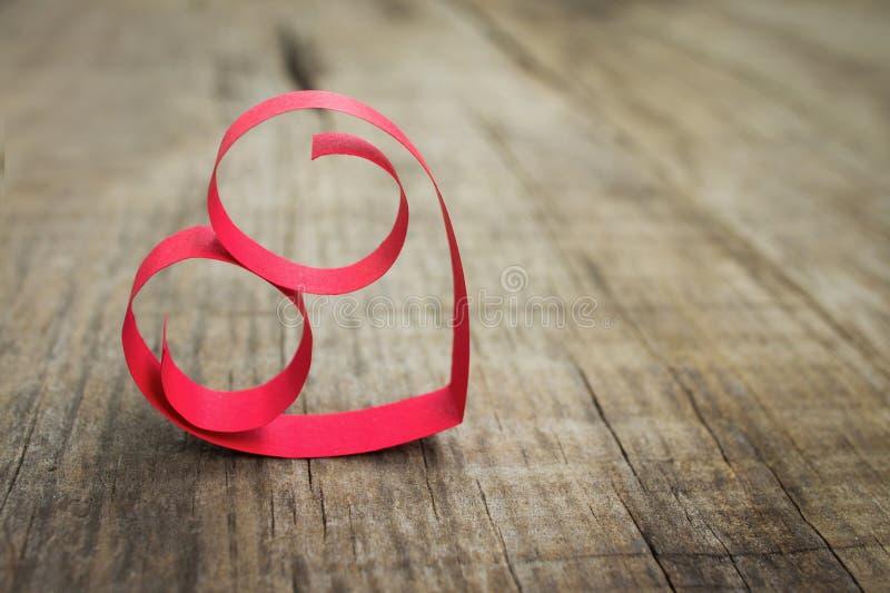 Διακόσμηση καρδιών εγγράφου στοκ εικόνα