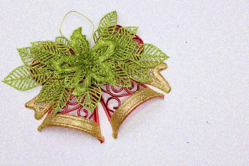 Download Διακόσμηση κουδουνιών Χριστουγέννων Στοκ Εικόνα - εικόνα από αντικείμενο, χρυσός: 62708259