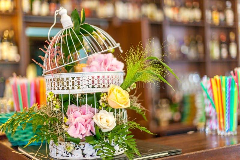 Διακόσμηση λουλουδιών στοκ φωτογραφίες
