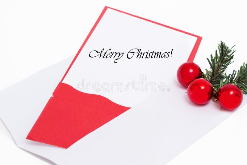 Διακόσμηση Χαρούμενα Χριστούγεννας στοκ φωτογραφίες