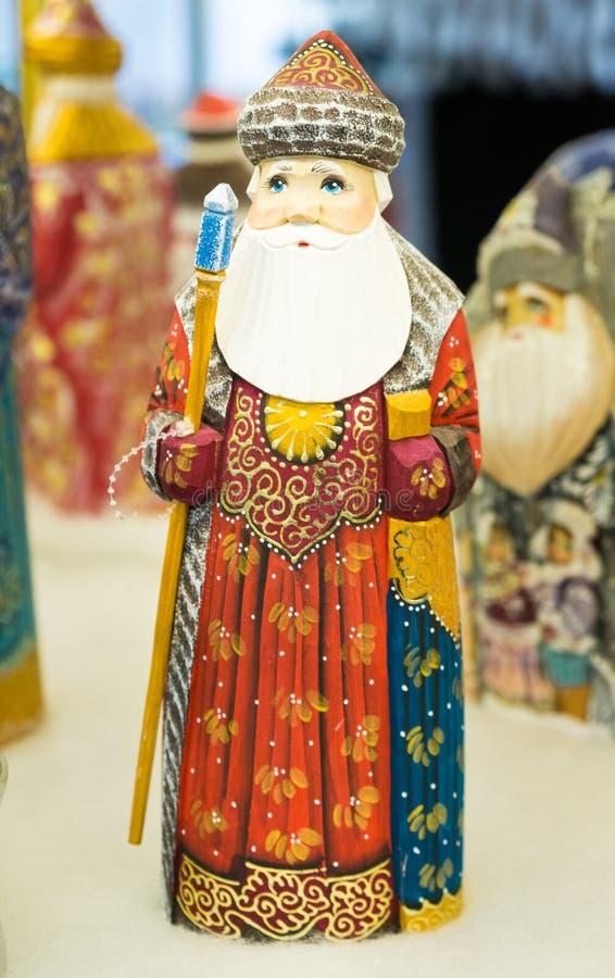 Διακόσμηση Χριστουγέννων - παγετός του Jack - Άγιος Βασίλης στοκ φωτογραφία με δικαίωμα ελεύθερης χρήσης