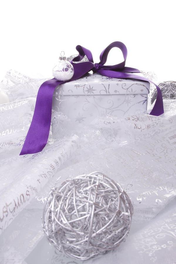 διακόσμηση Χριστουγέννων παρούσα στοκ φωτογραφία με δικαίωμα ελεύθερης χρήσης