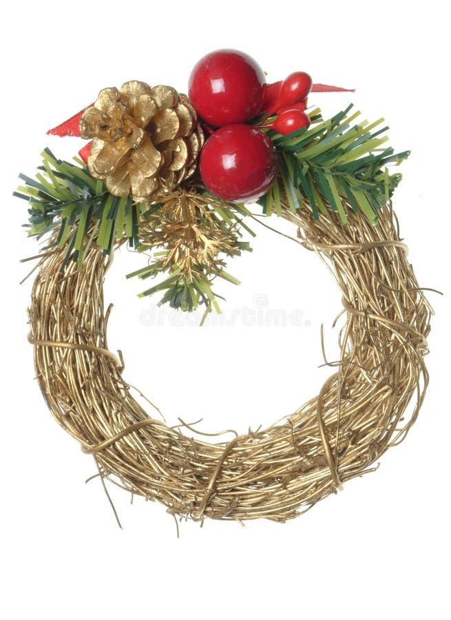 Download διακόσμηση Χριστουγέννων στοκ εικόνες. εικόνα από χρυσός - 393546