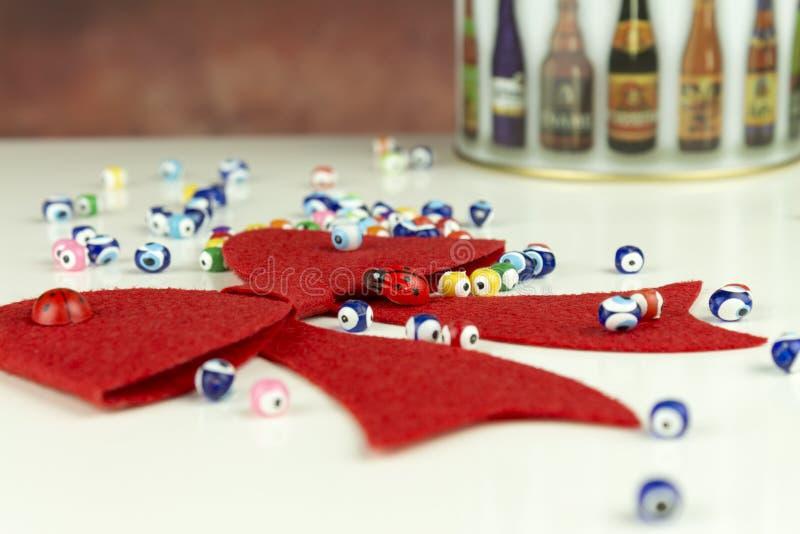 Διακόσμηση δώρων Χριστουγέννων στοκ φωτογραφία με δικαίωμα ελεύθερης χρήσης