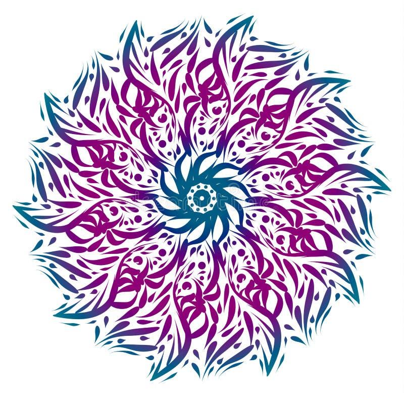 Διακόσμηση Mandala ελεύθερη απεικόνιση δικαιώματος