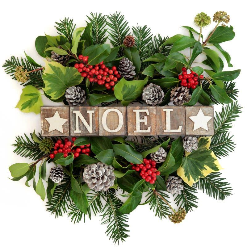 Διακόσμηση Noel στοκ εικόνα με δικαίωμα ελεύθερης χρήσης