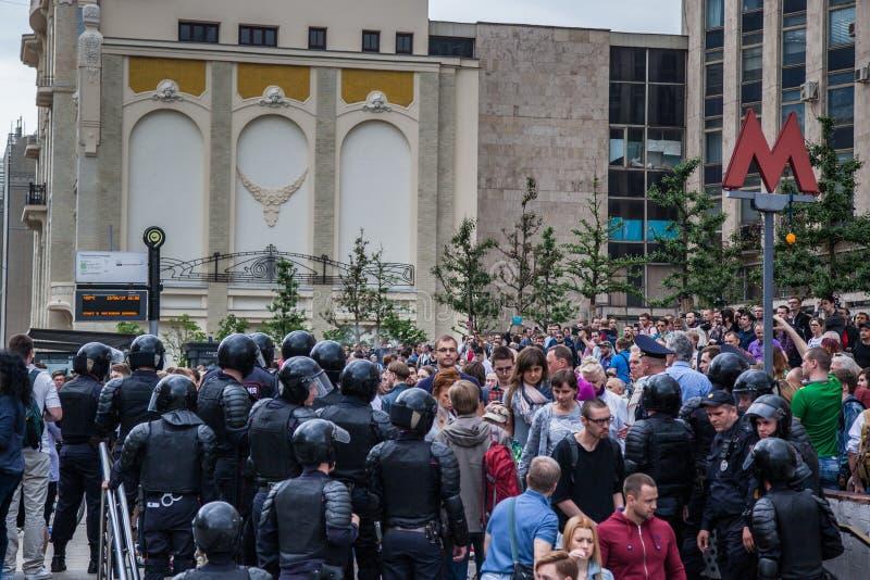 Διαμαρτυρία ενάντια στη δωροδοκία στοκ φωτογραφία με δικαίωμα ελεύθερης χρήσης