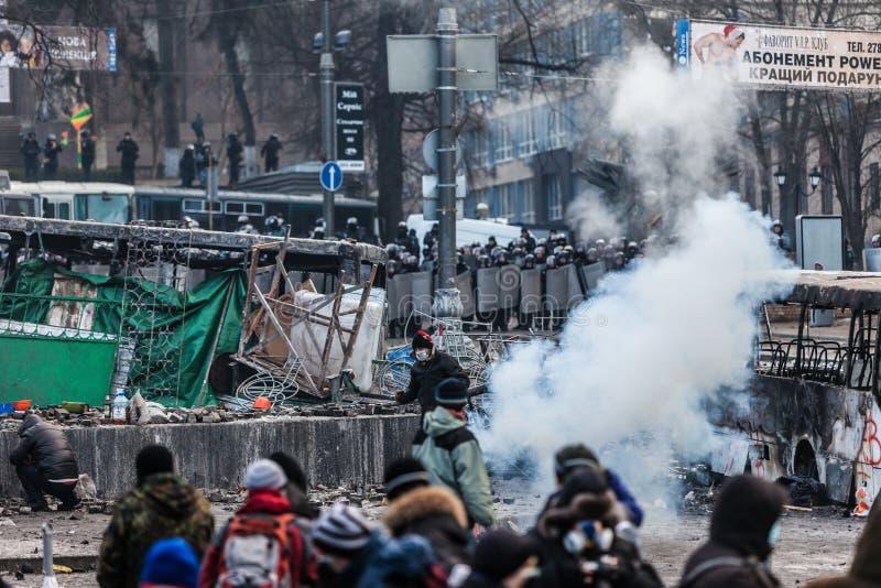 Διαμαρτυρία ενάντια στοκ εικόνα