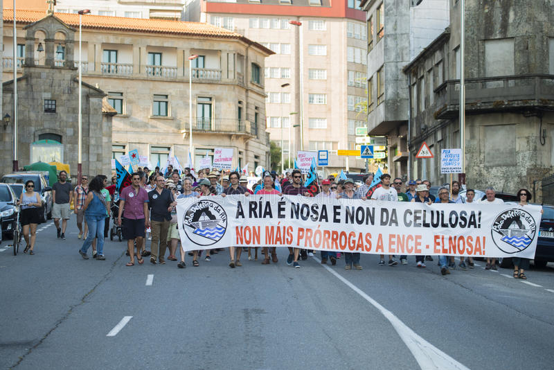 Διαμαρτυρία περιβάλλοντος στοκ εικόνες