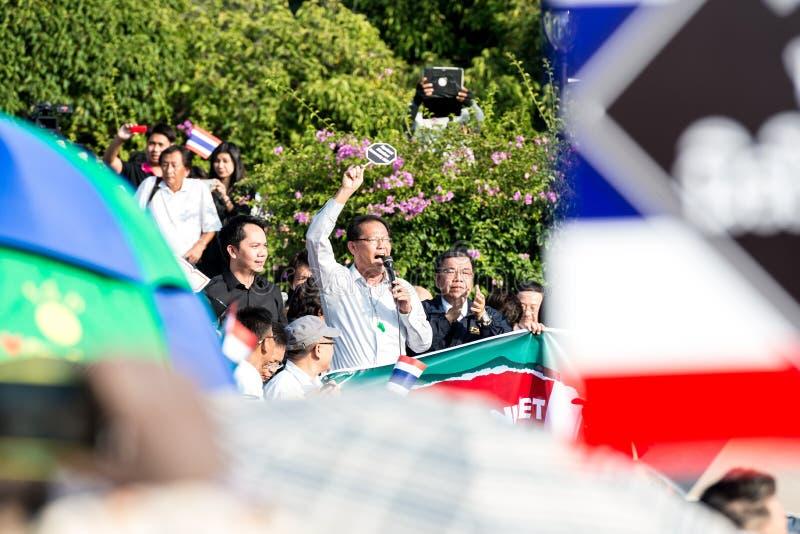 Διαμαρτυρία του Μπιλ ατιμωρησίας στην Ταϊλάνδη στοκ φωτογραφία με δικαίωμα ελεύθερης χρήσης
