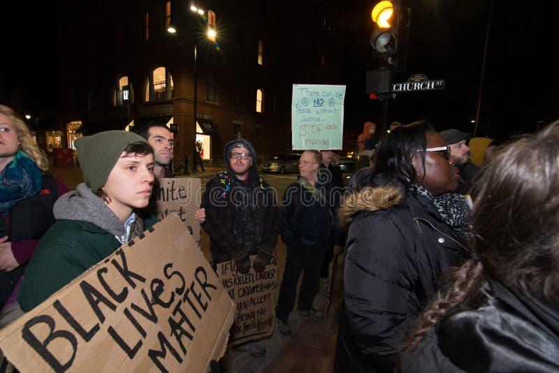 Διαμαρτυρία του Michael Brown στοκ φωτογραφίες με δικαίωμα ελεύθερης χρήσης