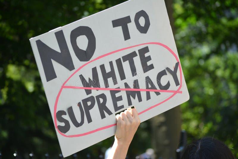 Διαμαρτυρία Sharia στοκ φωτογραφία