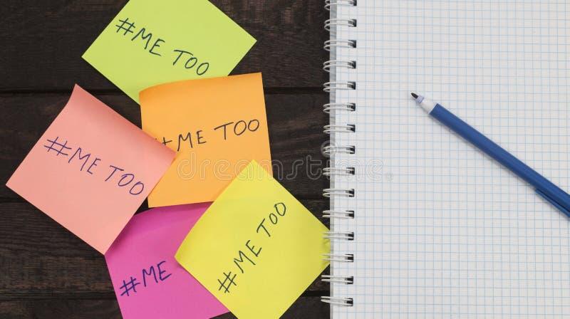 Διαμαρτυρίες έννοιας ενάντια στη σεξουαλική παρενόχληση κλείστε επάνω το 2018 στοκ φωτογραφία με δικαίωμα ελεύθερης χρήσης