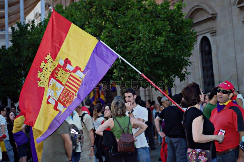 Διαμαρτυρίες ενάντια στη μοναρχία 26 στοκ φωτογραφίες