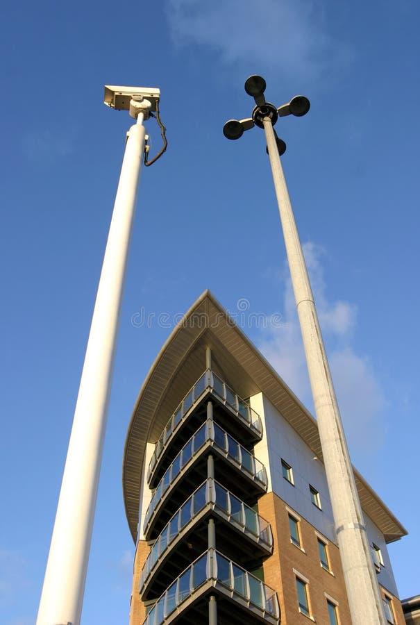διαμερίσματα ασφαλή Στοκ Φωτογραφία