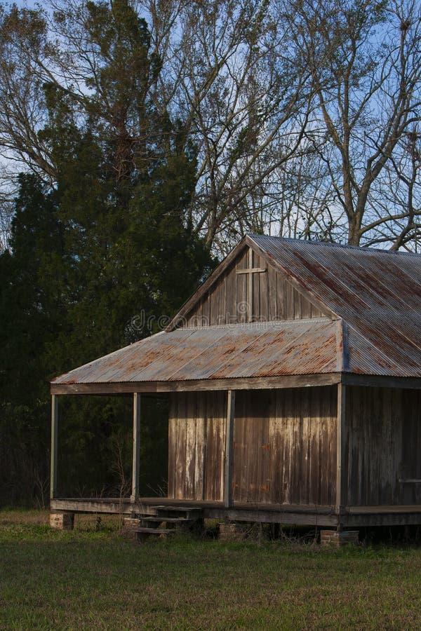 Διαμερίσματα σκλάβων στη φυτεία ζάχαρης της κοιλάδας Laurel στοκ εικόνα