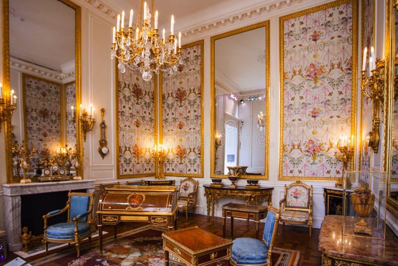 Διαμερίσματα Napoleon ΙΙΙ 2007 france june louvre museum paris στοκ φωτογραφίες