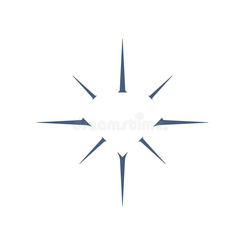 Διαμορφωμένο διαμάντι λογότυπο κοσμήματος διανυσματική απεικόνιση