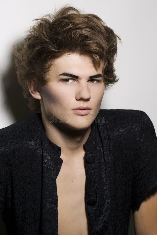 διαμορφώστε makeup αρσενικό πρό στοκ φωτογραφία