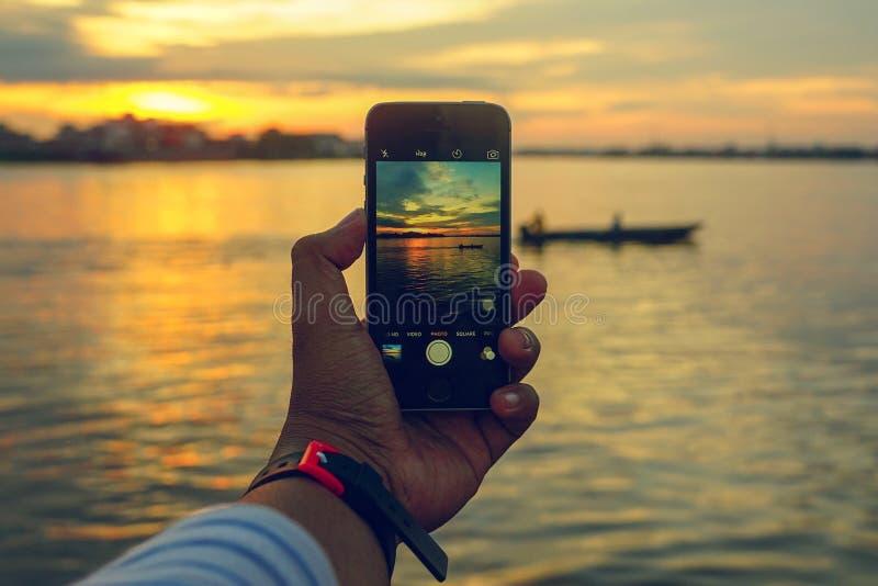Διαμόρφωση στο τηλέφωνό σας στοκ εικόνες με δικαίωμα ελεύθερης χρήσης