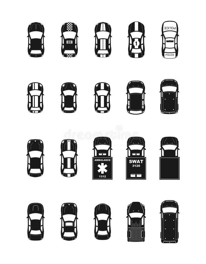 Διανυσματικά αυτοκίνητα απεικόνιση αποθεμάτων