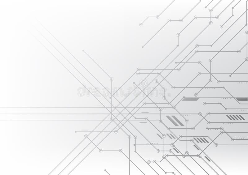 Διανυσματικά αφηρημένα υποβάθρου στοιχεία επικοινωνίας απεικόνισης τεχνολογίας ηλεκτρονικά στοκ φωτογραφία με δικαίωμα ελεύθερης χρήσης