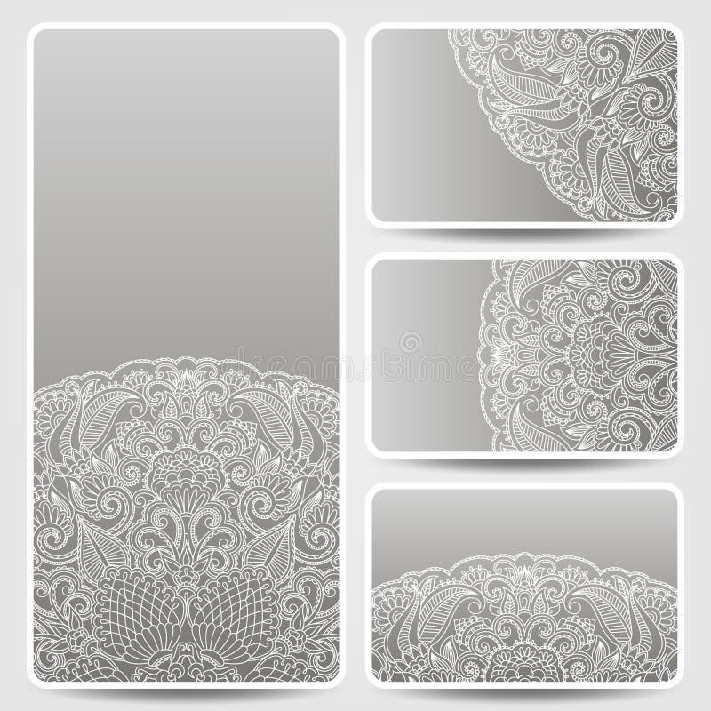 Διανυσματικά γραφικά σχέδια σχεδίων προτύπων floral. διανυσματική απεικόνιση